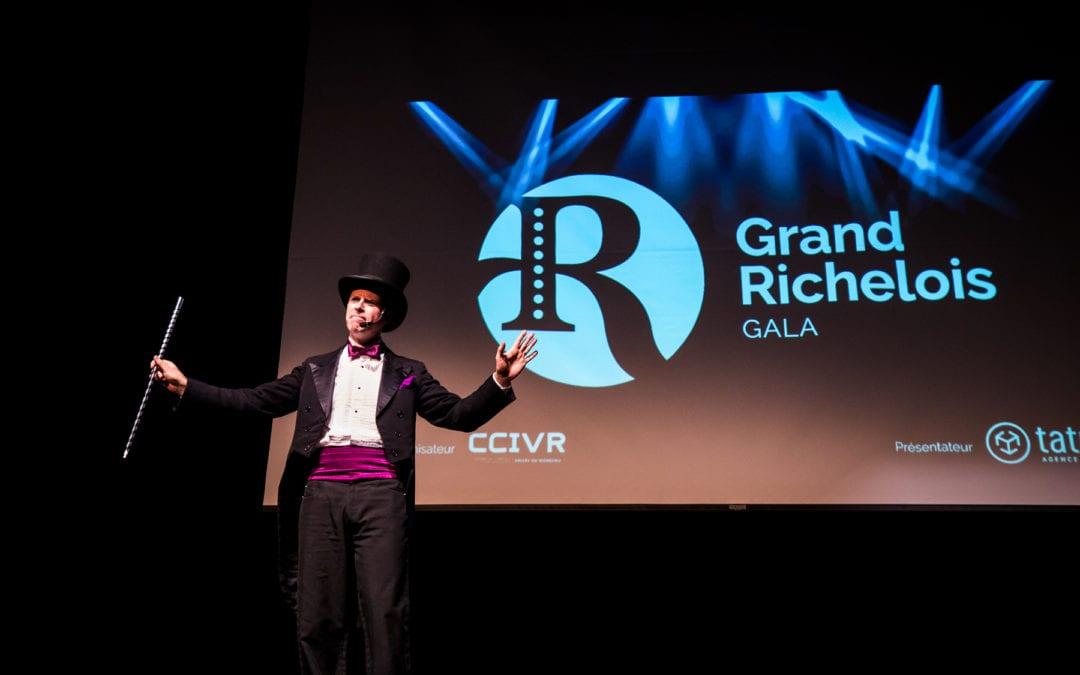 Une soirée spectaculaire pour couronner les lauréats du Gala Grand Richelois