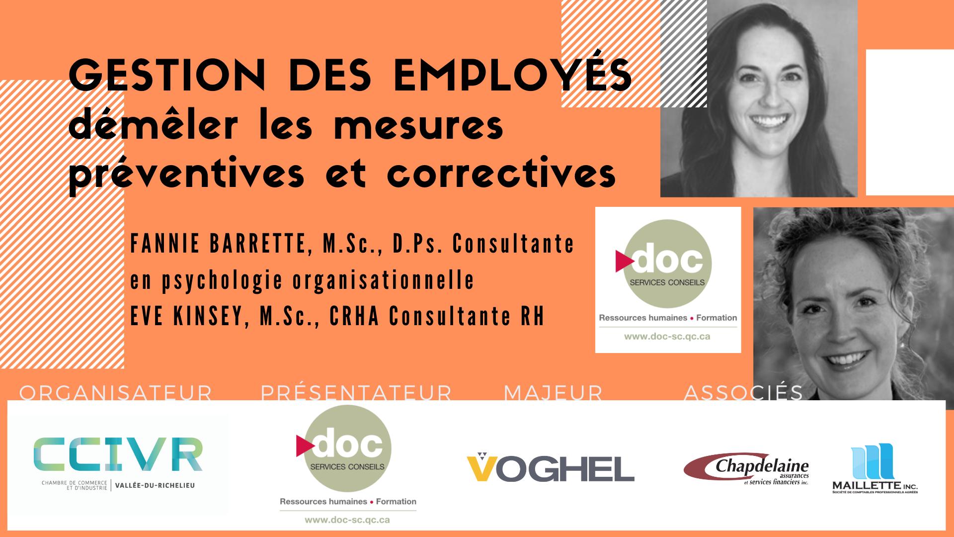 Gestion des employés : démêler les mesures préventive et correctives