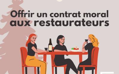 La FCCQ et la CCIVR proposent au gouvernement un contrat moral avec les restaurateurs