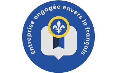 La CCIVR obtient la certification Engagement envers la langue française